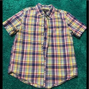 Boys plaid Ralph Lauren-Polo shirt